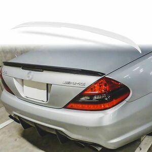 純正色塗装 ABS製 トランクスポイラー メルセデスベンツ SLクラス R230用 Aタイプ 両面テープ取付 カラーコード:960 MTS-27148