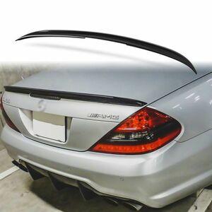 純正色塗装 ABS製 トランクスポイラー メルセデスベンツ SLクラス R230用 Aタイプ 両面テープ取付 カラーコード:197 MTS-27148