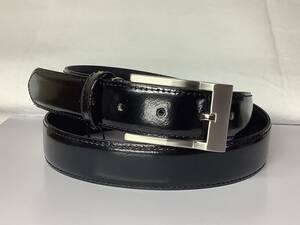 新品未使用 牛革ベルト びっくり価格お買い得 安心の日本製 黒 結婚式やパーティーに人気素材