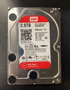 WD WD20EFRX SATA 2TB HDD