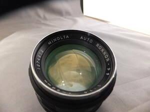 MINOLTA ミノルタ AUTO ROKKOR-PF 58mm f1.4