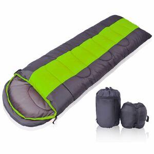 寝袋シュラフ 封筒型