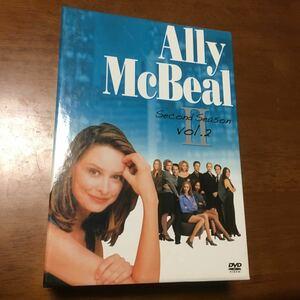 アリーマイラブ Ally McBeal Second Season vol.2 DVD BOX 3巻セット
