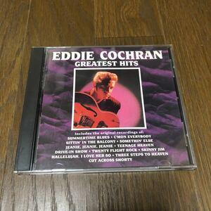 Eddie Cochran Greatest Hits USA盤CD