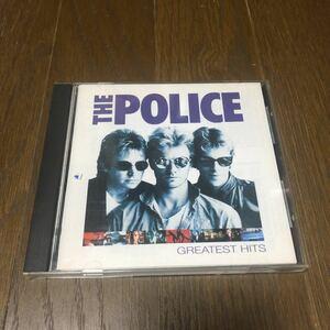 ポリス グレイテスト・ヒッツ 国内盤CD