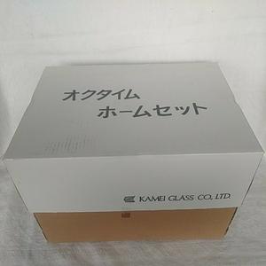 カメイガラス オクタイムホームセット アイスペール オールドグラス×5 タンブラーグラス×5 ビアグラス×5 1口ビール×5 ワイングラス×5