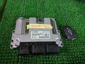 H24/03 Peugeot Peugeot 508W25F02#ECU& key # packing size S#15780270#2030029