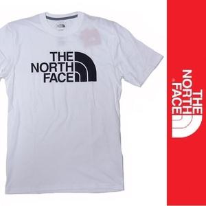 新品 THE NORTH FACE S/S T-SHIRT ザ ノースフェイス 半袖 Tシャツ ホワイト ハーフドーム HALF DOME アウトドア プリント L 正規品
