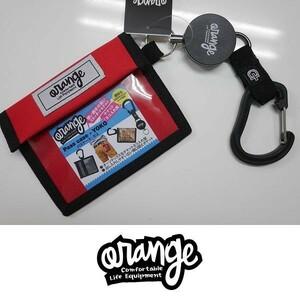 【新品:送料無料】20 Orange PASS CASE YOKO エクステンションコード付き RED オレンジ スノーボード パスケース リフト券