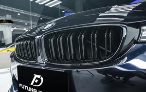 BMW 4シリーズ F32 F33 F36 フロント用艶ありブラックキドニーグリル センターグリル Performance style 2 パフォーマンス
