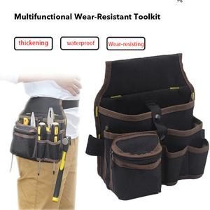 高容量道具袋ウエストポケット 電気技師ツールバッグ Oganizer キャリングポーチツールウエストポケットケース k-1815