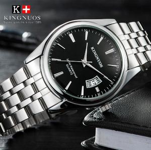 高級メンズ腕時計 30 メートル防水日付時計 男性スポーツ腕時計 男性クォーツカジュアル腕時計レロジオ Masculino k-2182