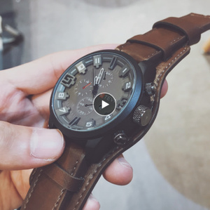 メンズ腕時計高級ブランド腕時計 クォーツ時計ファッション革ベルト腕時計 格安スポーツ腕時計 レロジオ男性 k-2230
