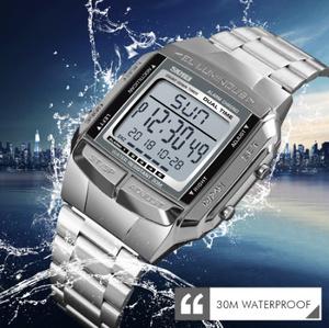 軍事スポーツ腕時計 防水メンズ腕時計 トップブランド高級時計 電子 LED デジタル時計 男性レロジオ k-2316