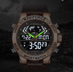新メンズ腕時計トップ 高級ブランド防水スポーツメンズ腕時計 クォーツアナログデジタル腕時計 男性レロジオ Masculino k-2335