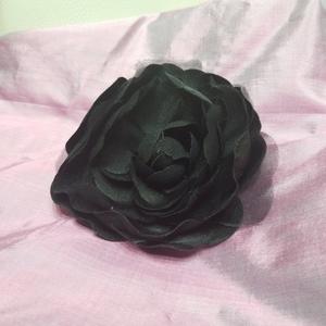 送料無料 即決 黒 ブラック コサージュ 花 卒業式 入学式 バッグ 飾り 結婚式