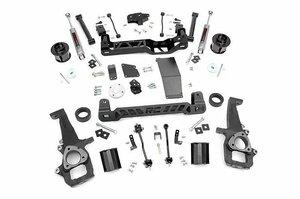 2012-18 DODGE RAM ダッジ ラム 1500 4WD用 ROUGH COUNTRY ラフカントリー 6インチ リフトアップキット サスペンション 33231 37x12.50