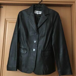 レザージャケット ブラック 山羊革