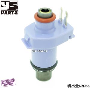 [超高品質]日本製大容量インジェクター紫色[噴射量120cc/min]シグナスX 2型[SE44J国内28S/台湾4C6/1CJ]3型[SE44J国内1YP/台湾1MS]