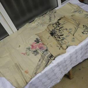 ジャンク品 何かわからない画 絵 日本画 まとめ売り 詳細不明 アンティーク 古美術