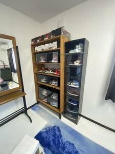 TRUCK furnitureトラックファニチャー FM SHELF OPENタイプ Naturalカラー 飾り棚 食器棚 本棚