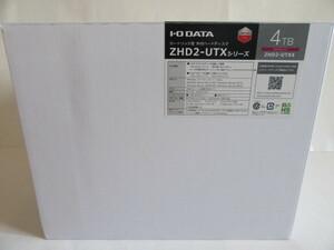 ★美品★IO DATA★カートリッジ式2ドライブ外付ハードディスク★ZHD2-UTX4、4TB