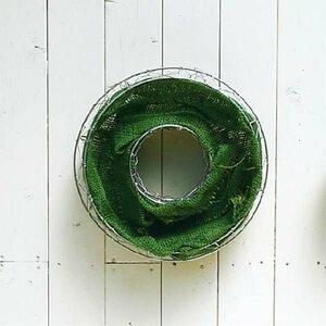 ☆即決  ♪簡単ハンギングワイヤーメッシュプランター 直径35cm FMP01-35G◆寄せ植え ギャザリング 草花 多肉植物 観葉植物