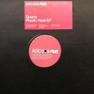 12inchレコード QUARTZ / PLASTIC HEAT EPの商品画像