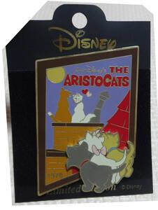 ディズニー おしゃれキャット/マリー/ベルリオーズ/トゥルーズ History of Art リミテッドエディション/ピンバッジ ピンバッチ/ピンズ レア