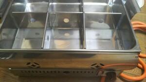 業務用おでん鍋LPガス専用、送料1600円は出品者負担します。