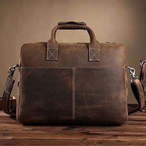 送料無料 新品 メンズブリーフケース 男性用ビジネスバッグ ラップトップバッグ オフィスハンドバッグ ショルダー レトロカジュアル
