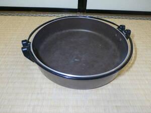 IH対応☆電磁すき鍋☆26cm☆アルミ・ステンレス☆竹原製缶