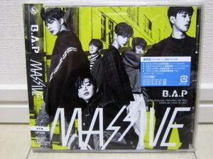 K-POP♪ B.A.P ビー・エー・ピー JAPAN 3rdアルバム「MASSIVE」通常盤CD/日本版/3集/美品!