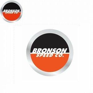 NEW BRONSON ブロンソン SPOT LOGO 円形 ロゴ ステッカー/KA3191 スケート スケボー ■