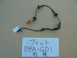 フィット 19年 DBA-GD1 右リアABSセンサー 49617112