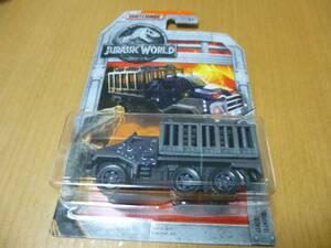 マッチボックス ミニカー JURASSIC WORLD  ARMORED ACTION TRANSPORTER トラック
