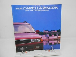 K1■MAZDA (マツダ)新型カペラ ワゴン 旧車カタログ 1994年■並/押印無、経年劣化・ヤケあり
