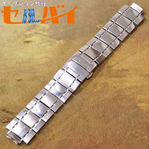 本物 ヴィトン 絶盤 タンブールGM ダミエSSブレスレット 純正ステンレスブレスレット 腕時計 ウォッチベルト メタルバンド LOUIS VUITTON