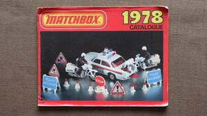 * Matchbox MATCHBOX 1978 year catalog minicar C0914