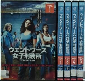 DVD ウェントワース女子刑務所 シーズン1 全5巻セット(日本語吹替)ダニエル・コーマック/レンタル版