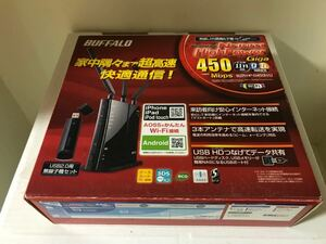 Wi-Fi 無線LANルーター BUFFALO WZR-HP-G450H