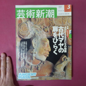 z15芸術新潮【特集:よみがえる王たちの物語-古代マヤの扉をひらく】