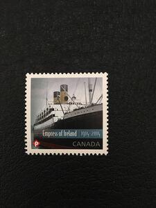 カナダ 2014年 エンプレス・オブ・アイルランド100年 船 1種完 未使用 NH