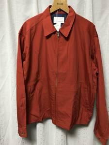 新品 19ss nanamica crew jacket L 赤 定価35,200円 ナナミカ スウィングトップ ジャケット レッド red