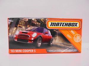 MATCHBOX '03 ミニクーパー S マッチボックス 箱 ミニカー
