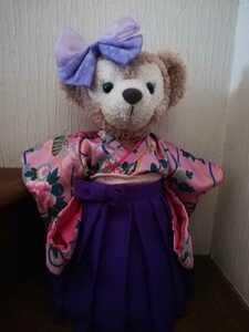 型紙 女袴+振り袖+リボン シェリーメイS 用 型紙のみです。衣装、ぬいぐるみ、付属含みません