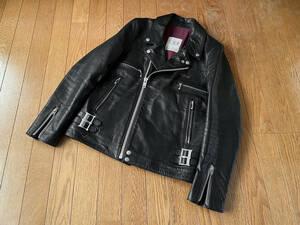 アンダーカバー ルイスレザー型ライダース ジャケット undercover leather biker jacket jonio but beautiful scab T affa shepherd