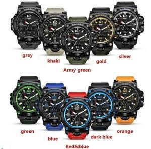 M578 SMAEL 11色スポーツウォッチ男性デジタルLED時計ミリタリーウォッチアーミーメンズ' s腕時計50M防水レロジオモントレオム