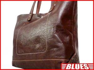 即決★N.B.★オールレザートートバッグ メンズ 茶 ブラウン 本革 ハンドバッグ 本皮 かばん 通勤 トラベル 出張 カバン 鞄 レディース