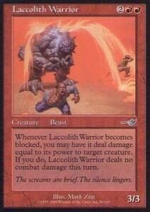 034078-002 NE/NEM 溶岩獣の戦士/Laccolith Warrior 英2枚
